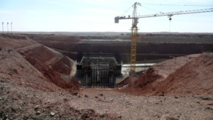 Phase 1 of OT open pit construction begins